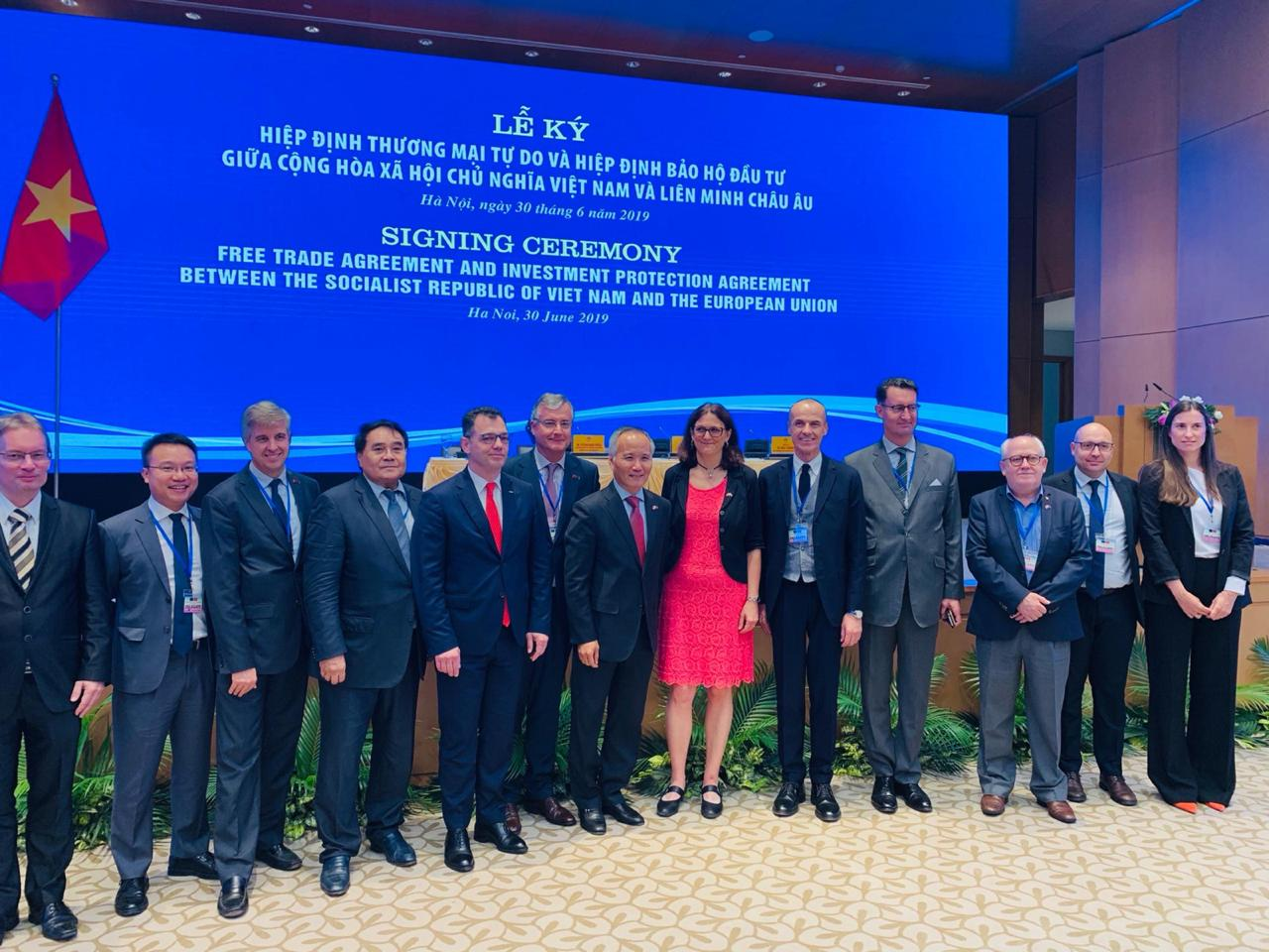 European Union signs Free Trade Agreement (EVFTA) with